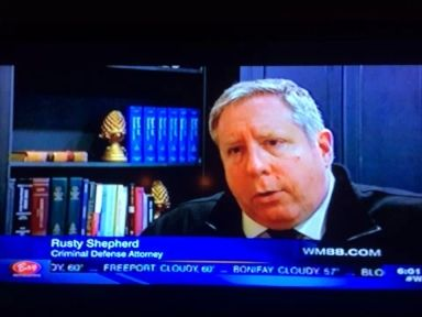Shepard on the news